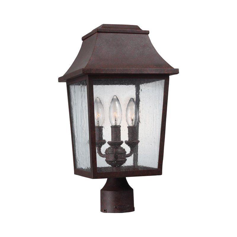 Ardin 3 Light Lantern Head Outdoor Post Lights Outdoor Lamp Posts Post Lighting