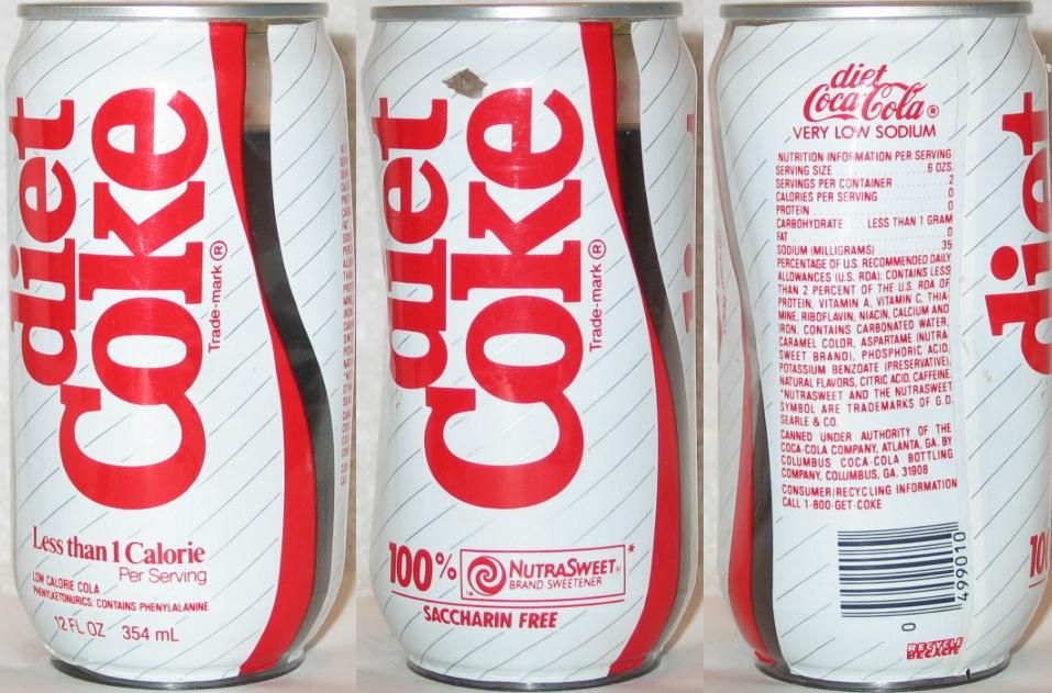 cholesterol and diet coke