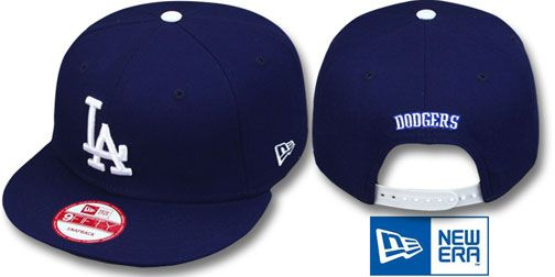 Dodgers 'REPLICA GAME SNAPBACK' Hats by New Era