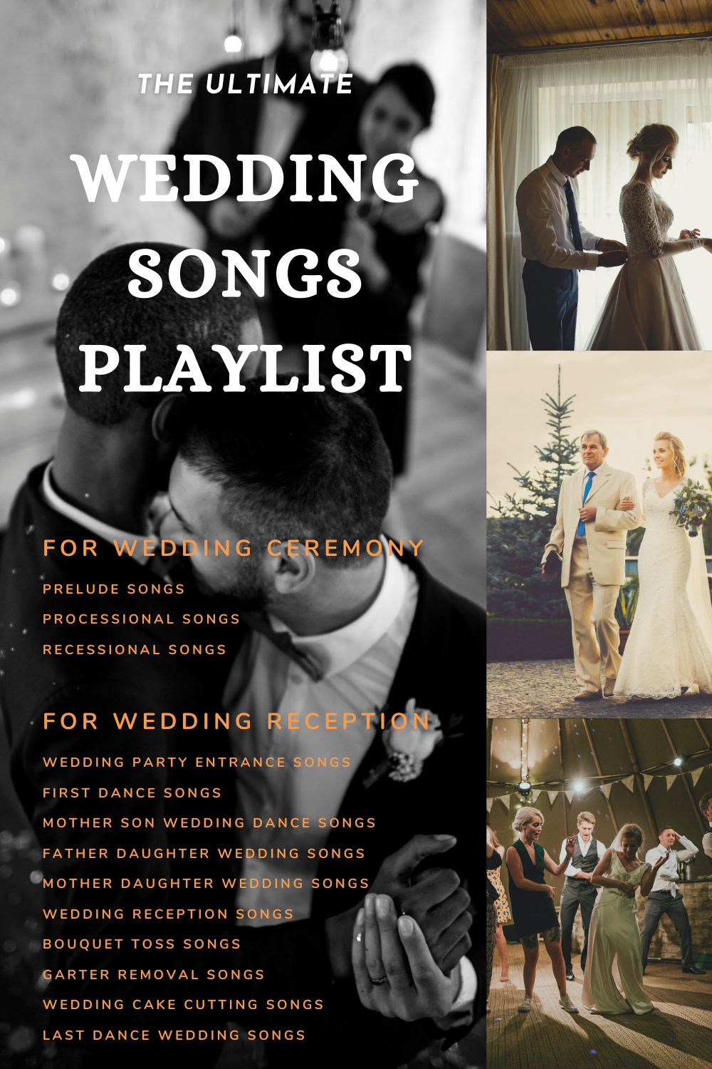 Best Wedding Songs 2020 The Ultimate Playlist For Every Moment Of The Day In 2020 Wedding Songs Processional Songs Wedding Song Playlist
