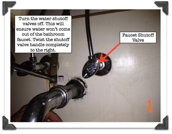 Bathroom Sink Water Shut Off Valve Small Bathroom Vanities