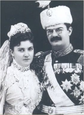 Unpopular King Alexandar and Queen Draga of Serbia were massacred in their palace, their bodies dismembered and tossed in the square. 1903.