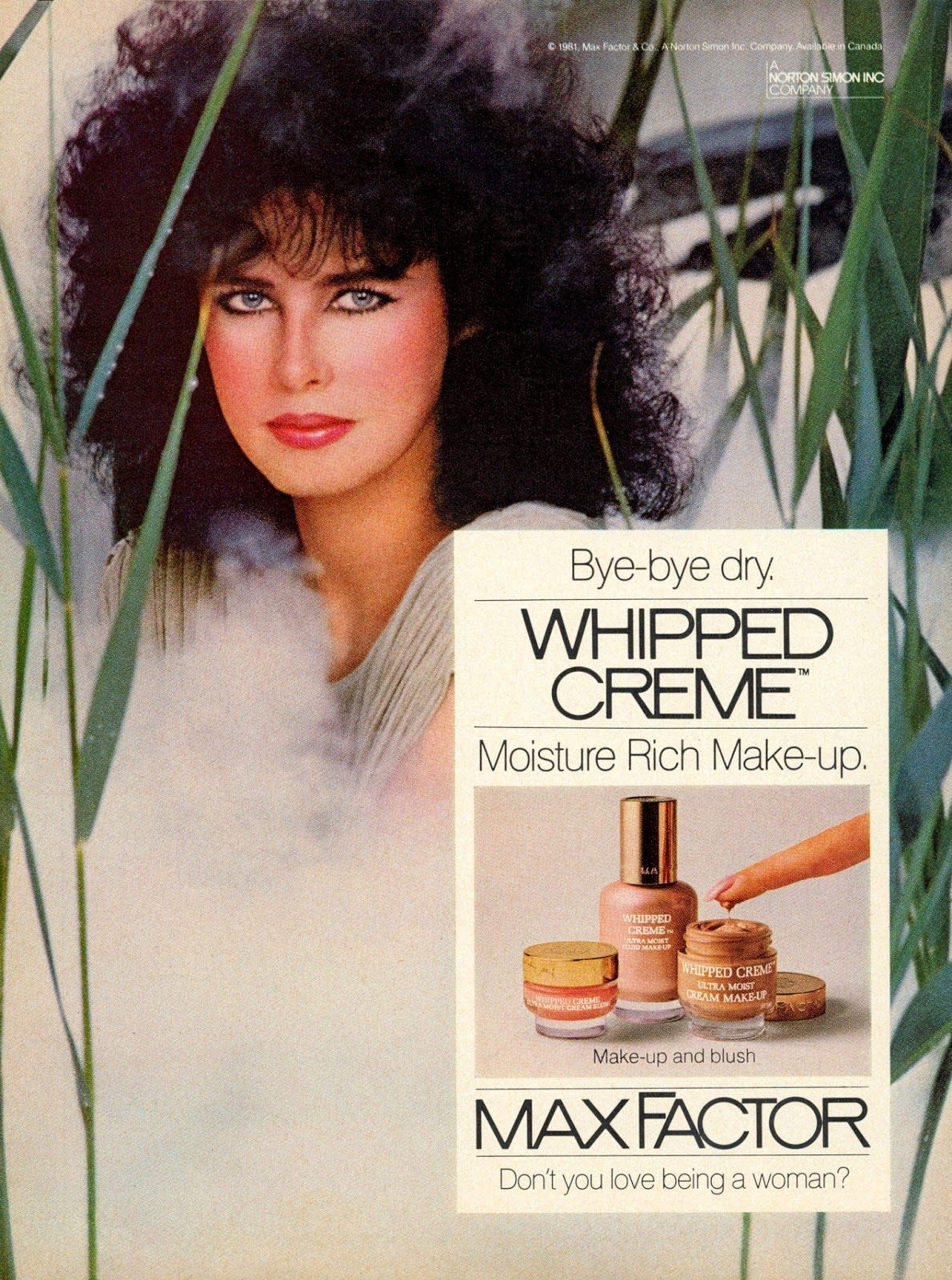 Top Models of the World Dayle Haddon (Cosmetics) 1981