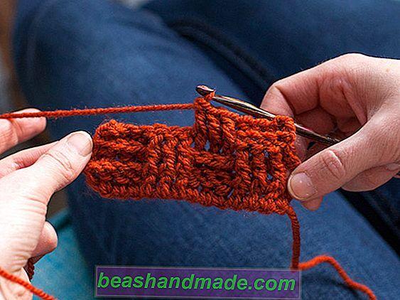 Crochet basketweave stitch: criar uma textura em seu crochet