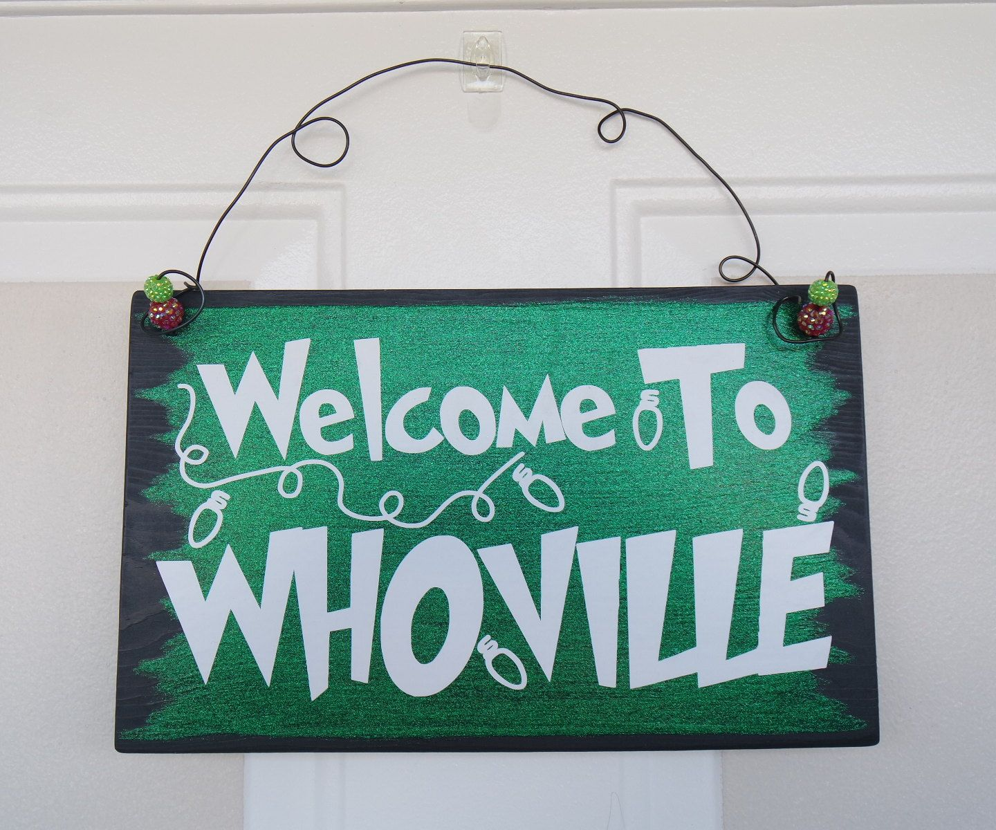 Diy grinch christmas decorations -  But No Grinches Grinch Christmas Decorationswhoville