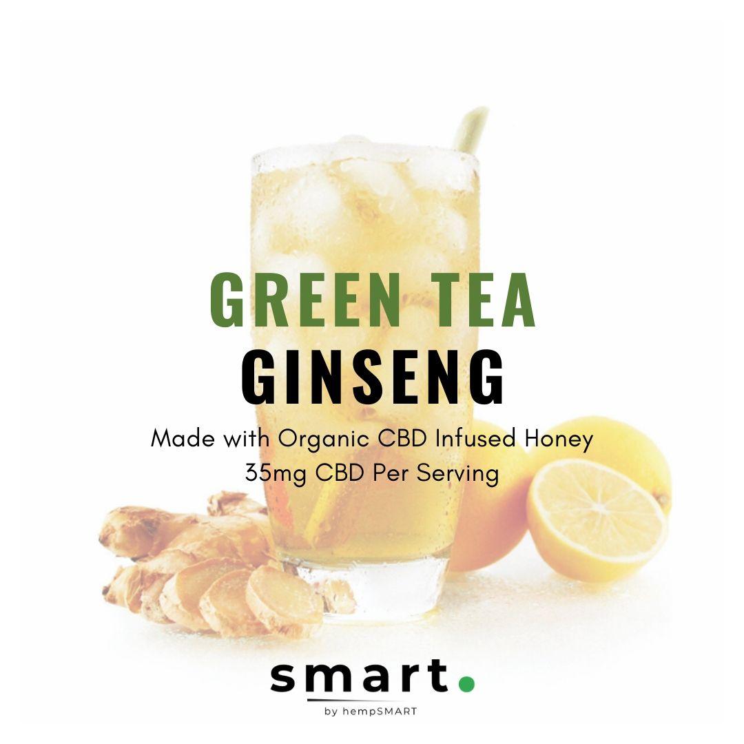 Photo of hempSMART: smrt.™ 35mg Ginseng Green Tea Drink Mix