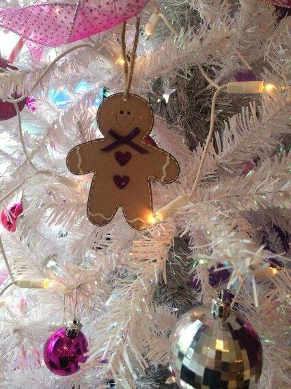 HairCandy salon Cardiff gingerbread men christmas tree decorations