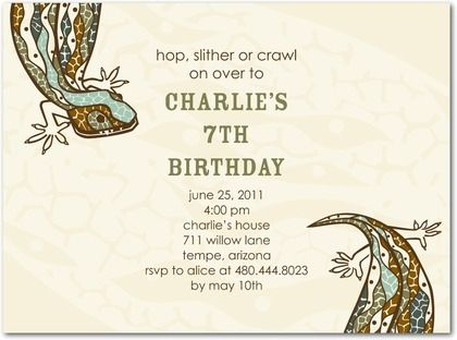 Reptile invitation reptile party pinterest reptiles reptile reptile invitation filmwisefo Image collections