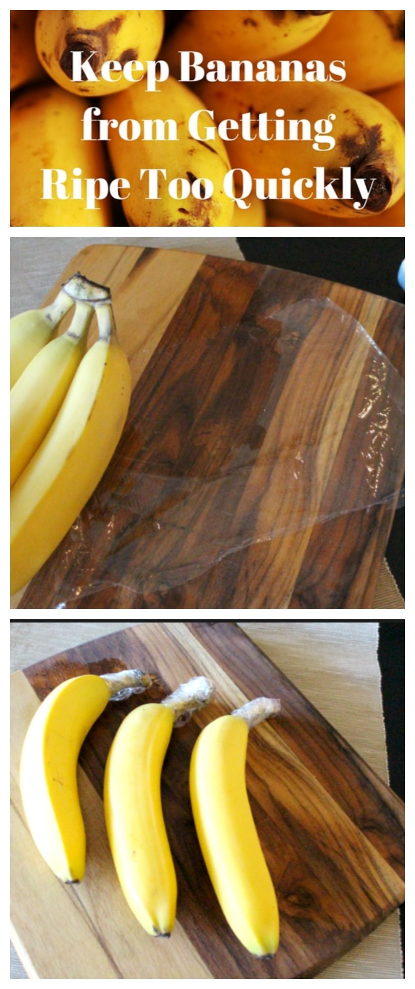 how to preserve bananas for longer time