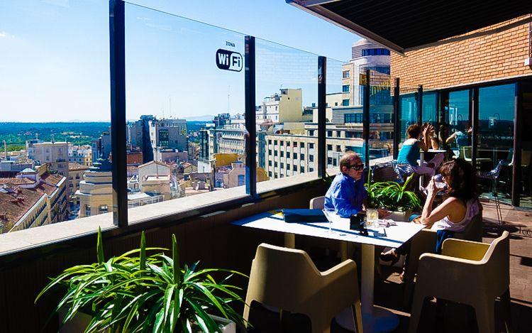 Terrazas Con Vistas Bares Y Restaurantes Para Cenar O