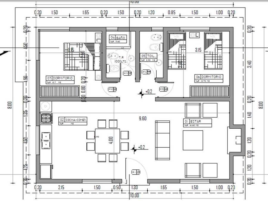Construccion cabaña | Planos in 2019 | Planos de casas ...