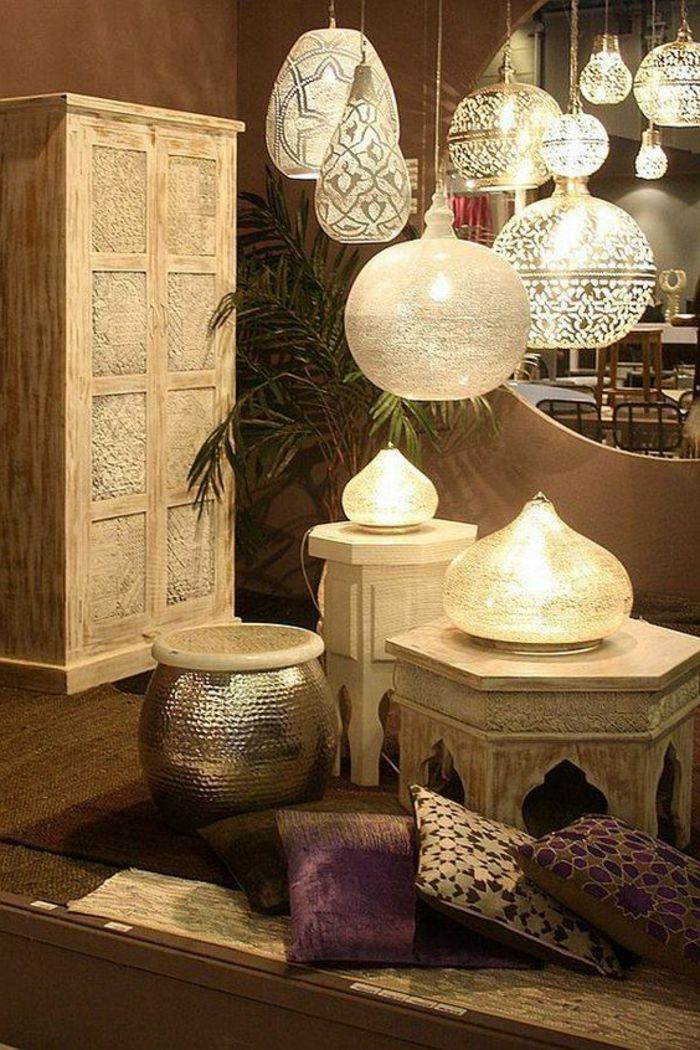 130 ideen f r orientalische deko luxus pur in ihrer wohnung tischdeko ideen arabisch und. Black Bedroom Furniture Sets. Home Design Ideas
