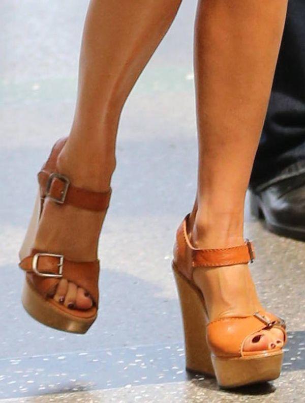 Chloe wedges, Wedge sandals
