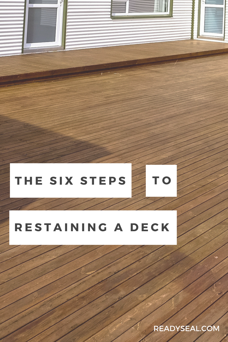 How To Re Stain A Deck To A Different Color Staining Deck Deck