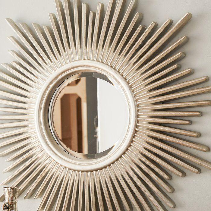 Nampa Modern Sunburst Accent Mirror Mirror Wall Mirror Sunburst Mirror