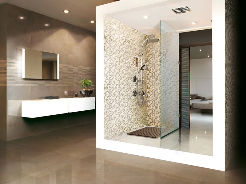 Decorative Tiles For Bathroom Enchanting Ugly Details Butself Enclosed Shower Room Within A Room Decorating Design