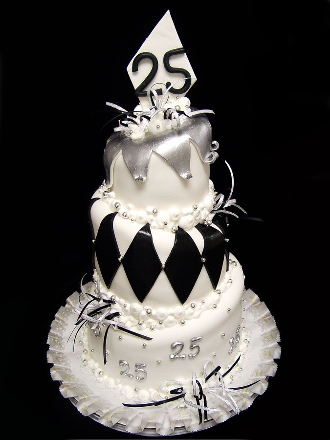 25th anniversarycake happyanniversary Event Cakes Pinterest