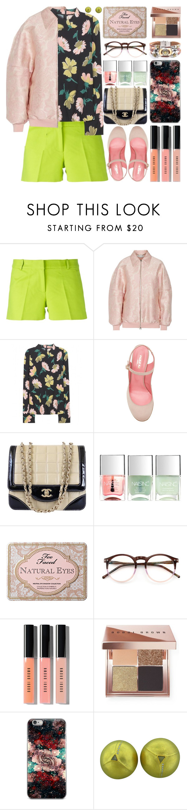 """Fall"" by barbarela11 ❤ liked on Polyvore featuring MICHAEL Michael Kors, STELLA McCARTNEY, Marni, Paule Ka, Chanel, Nails Inc., Too Faced Cosmetics, Wildfox and Bobbi Brown Cosmetics"