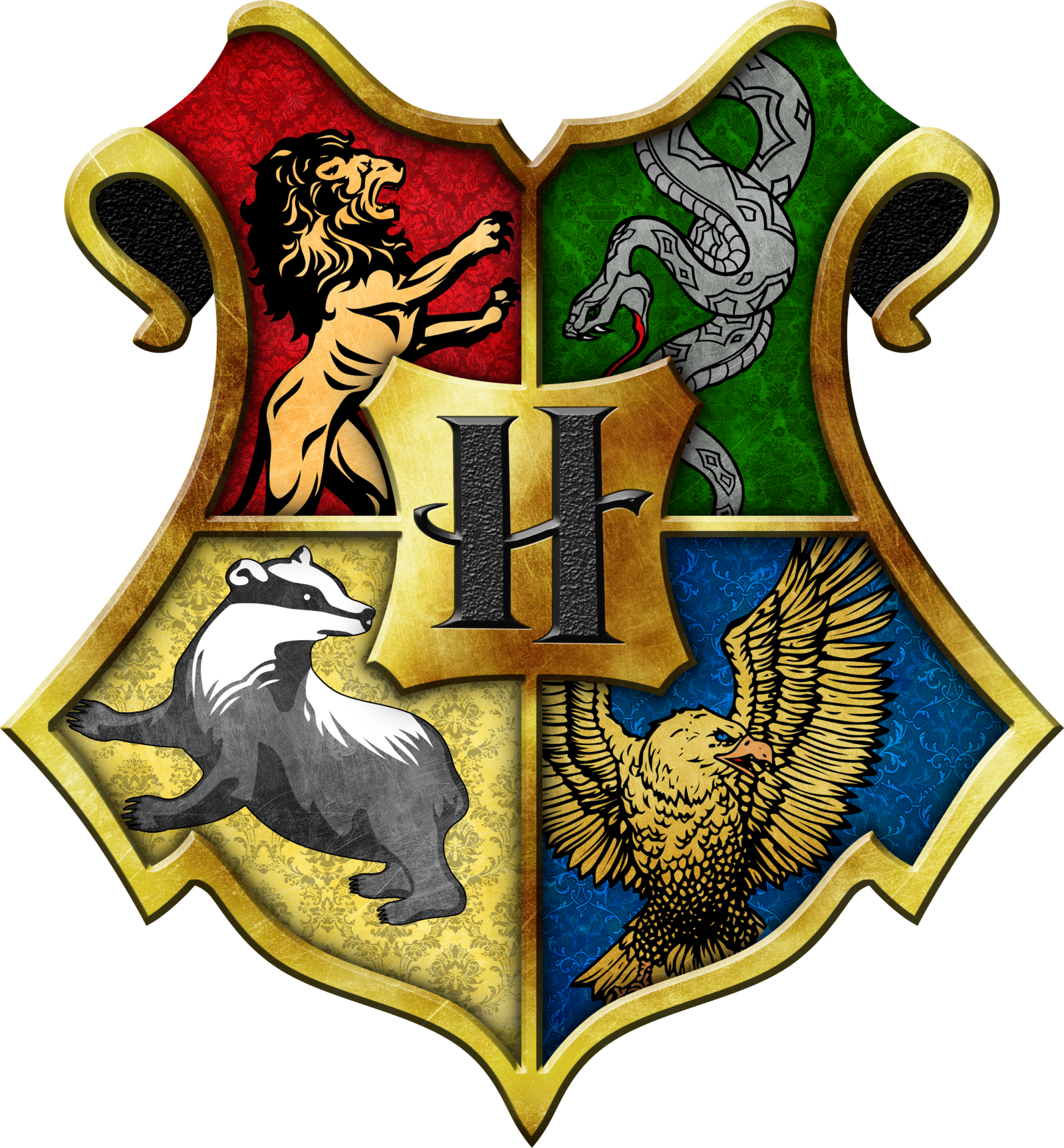 The Enneagram Goes To Hogwarts | Hogwarts crest, Hogwarts ...