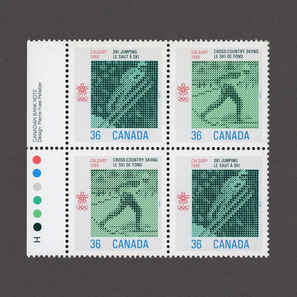 Image result for calgary winter olympics stamp Postage