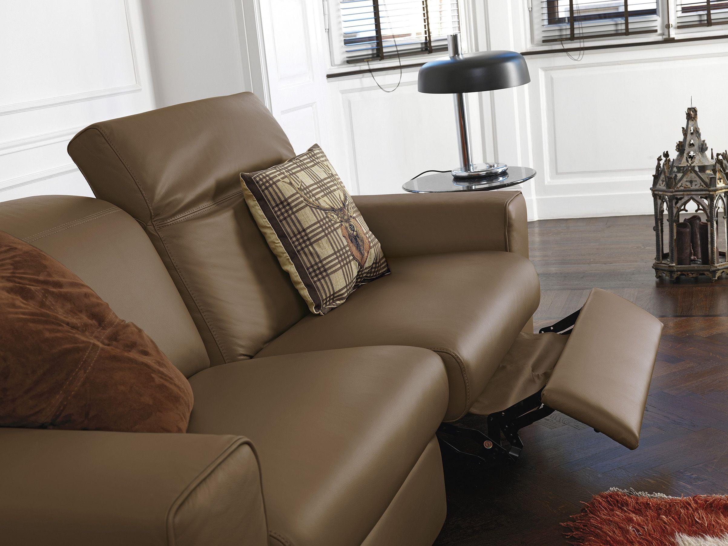 Pulire Divano In Pelle divano in pelle con recliner