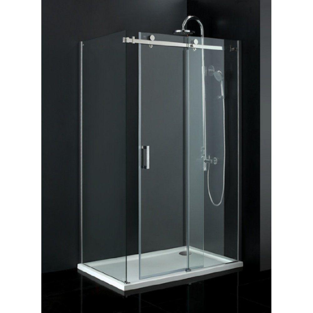 Small Frameless Sliding Glass Shower Doors Frameless Shower