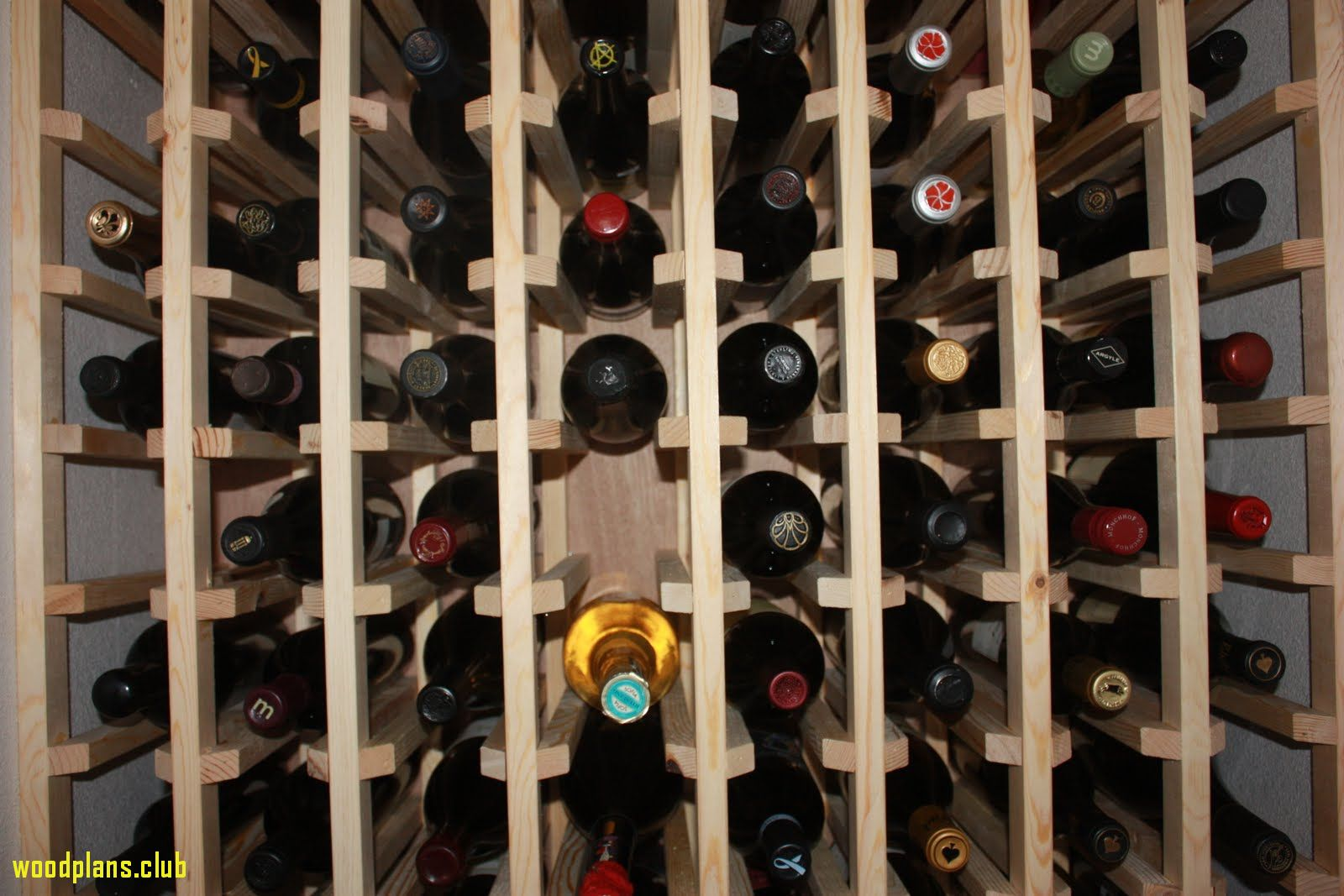 70 Free Woodworking Plans Wine Rack