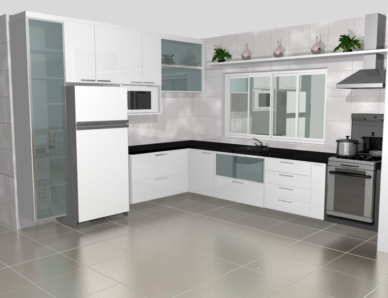 Modelos de cozinhas 4 pictures to pin on pinterest - Modelos De Cozinhas Planejadas
