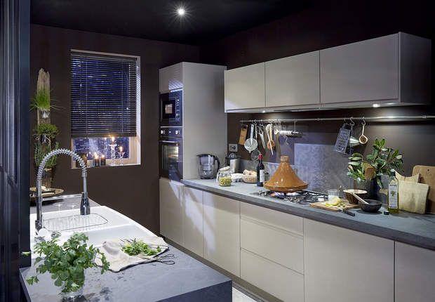 Cuisine leroy merlin le mod le esprit fifties cuisine - Modele cuisine leroy merlin ...