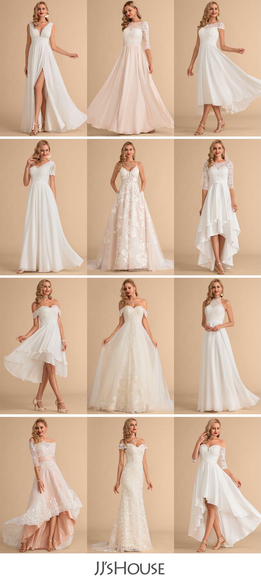 Jj Shouse Wedding Dresses In 2020 Modest Lace Wedding Dresses Boho Wedding Gowns Wedding Dresses
