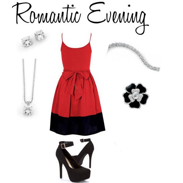 Romantic Evening by jenjensan on Polyvore