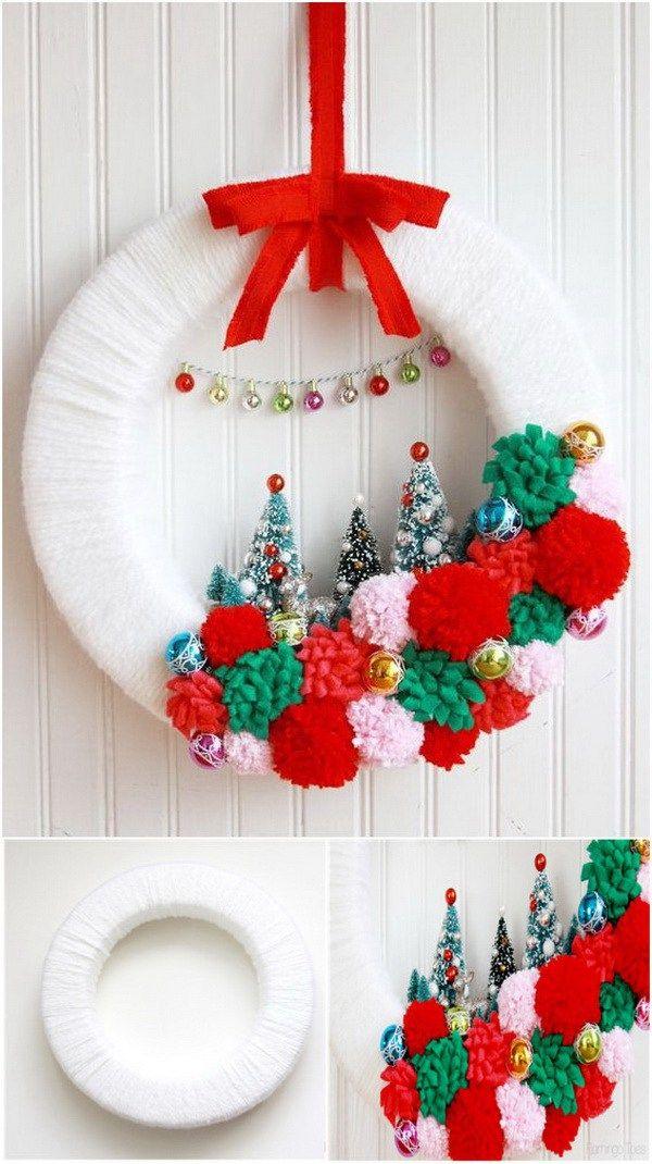 30+ Festive DIY Christmas Wreaths with Lots of Tutorials Wreaths