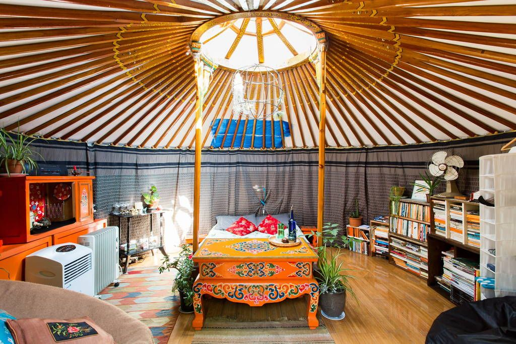 Https Www Airbnb Au Rooms 1223971 Yurt Tiny House