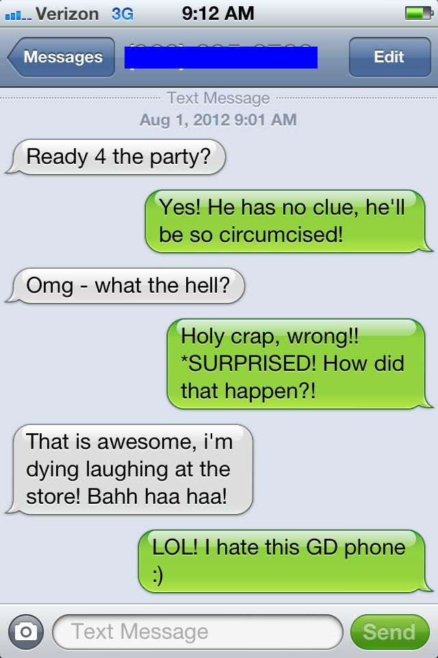 funny auto-correct texts - Now, THATs a special birthday