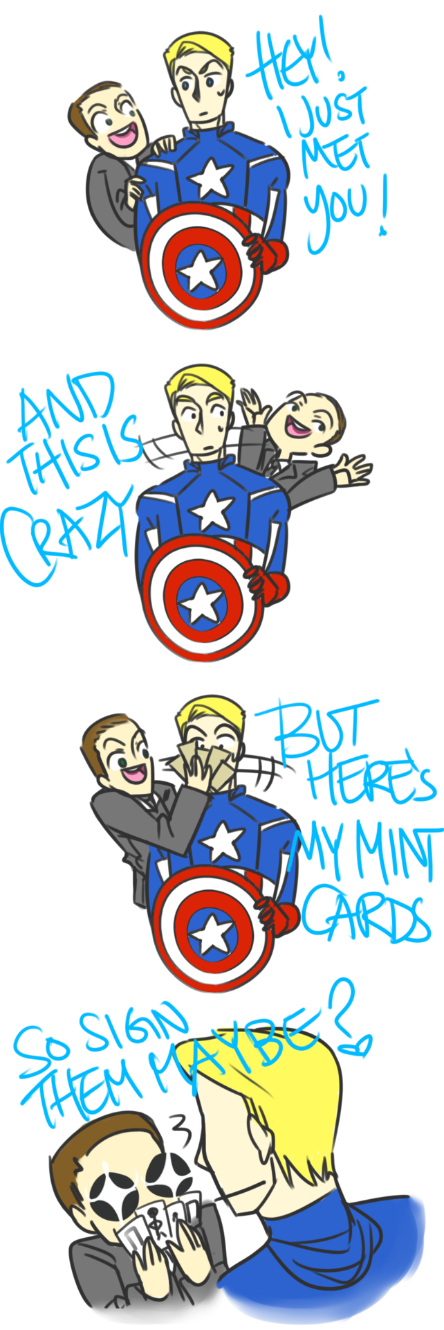Agent Coulson meets Carly Rea Jepsen LOL :D