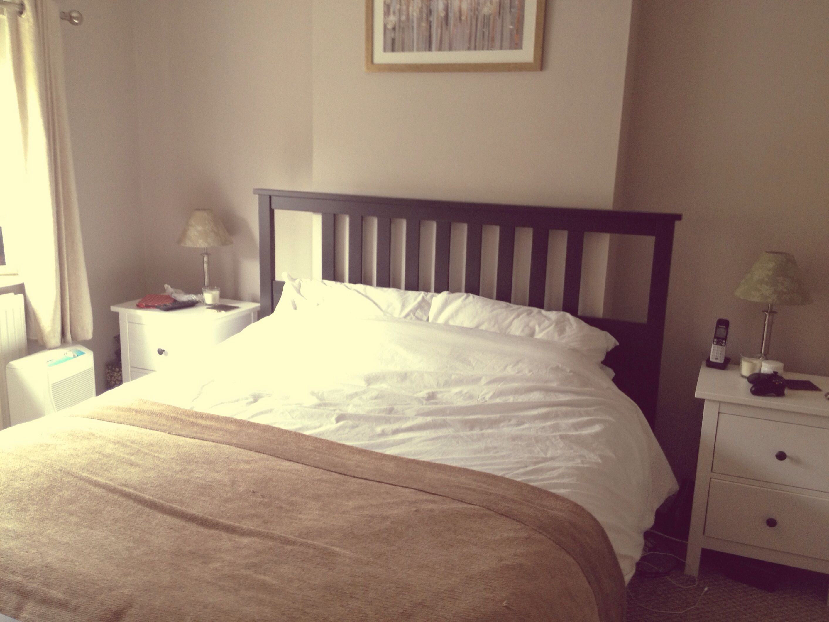 Dulux Dusted Cappucino Paint Cosy Bedroom
