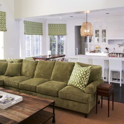 Olive Couch Design Ideas Pictures Remodel And Decor Green Sofa Design Couch Design Sofa Design
