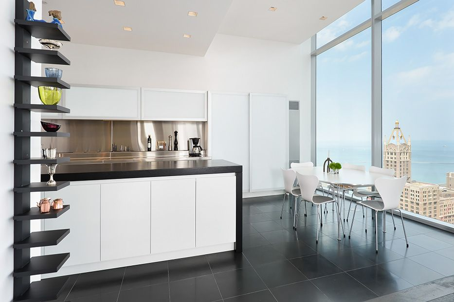 Chicago Penthouse Wwwdresnerdesign Dresner Design  Kitchen Interesting Chicago Kitchen Design Review