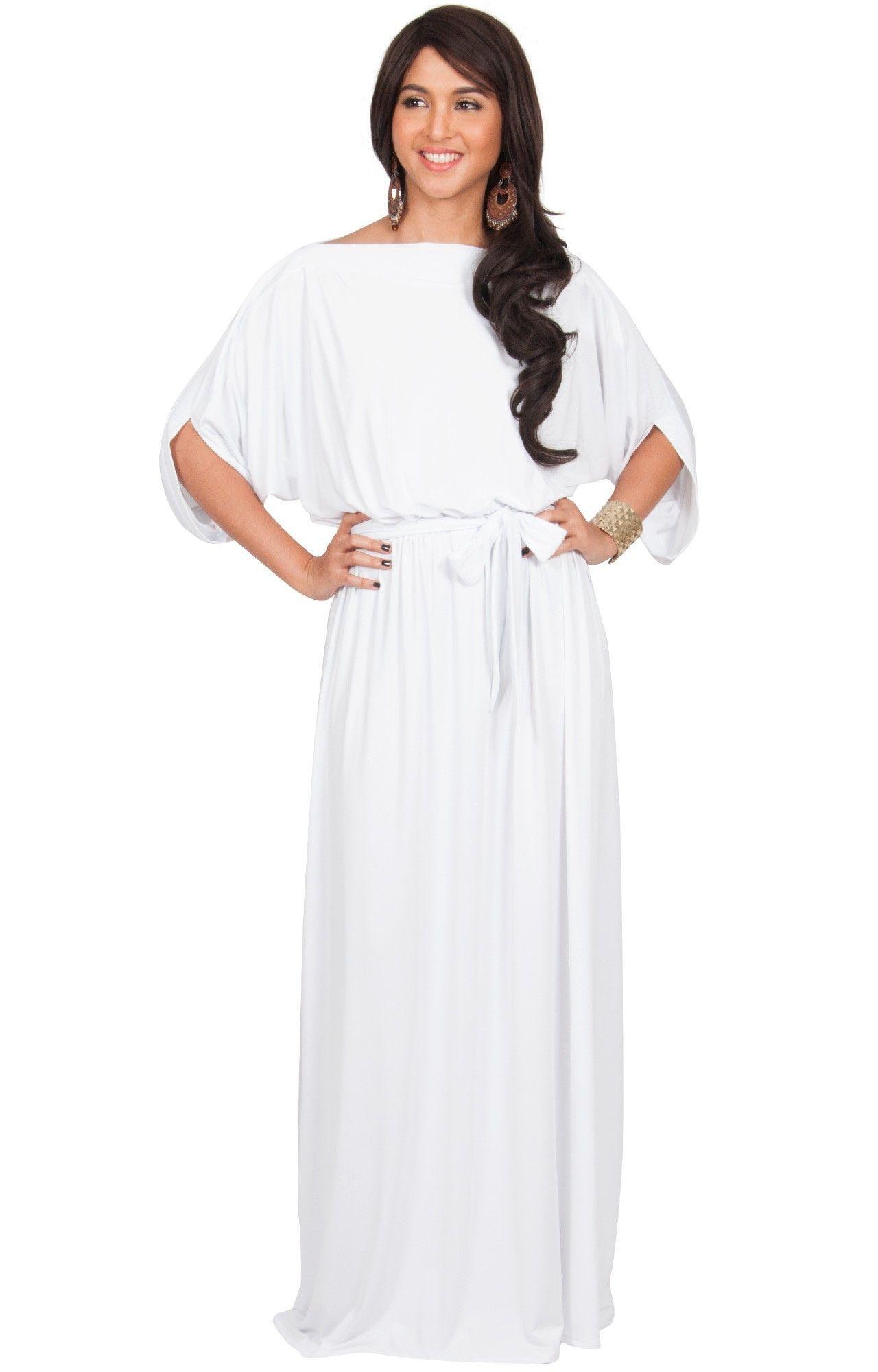 aeb1e4867389 White Dressy Maxi Dresses - raveitsafe
