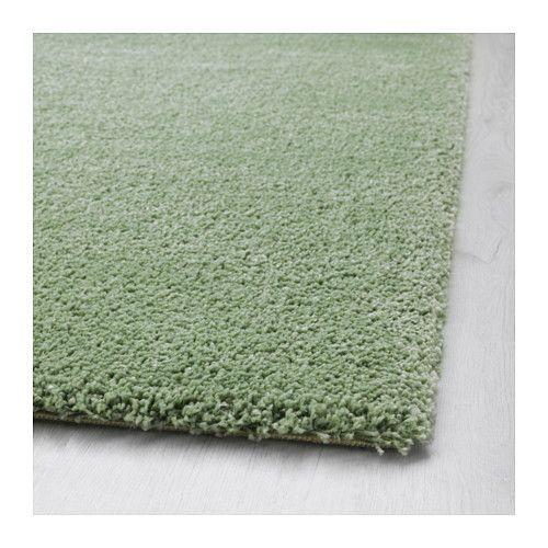 ÅDUM Teppich Langflor, hellgrün Teppiche, Wohnzimmer und Wohnen - teppich wohnzimmer grun