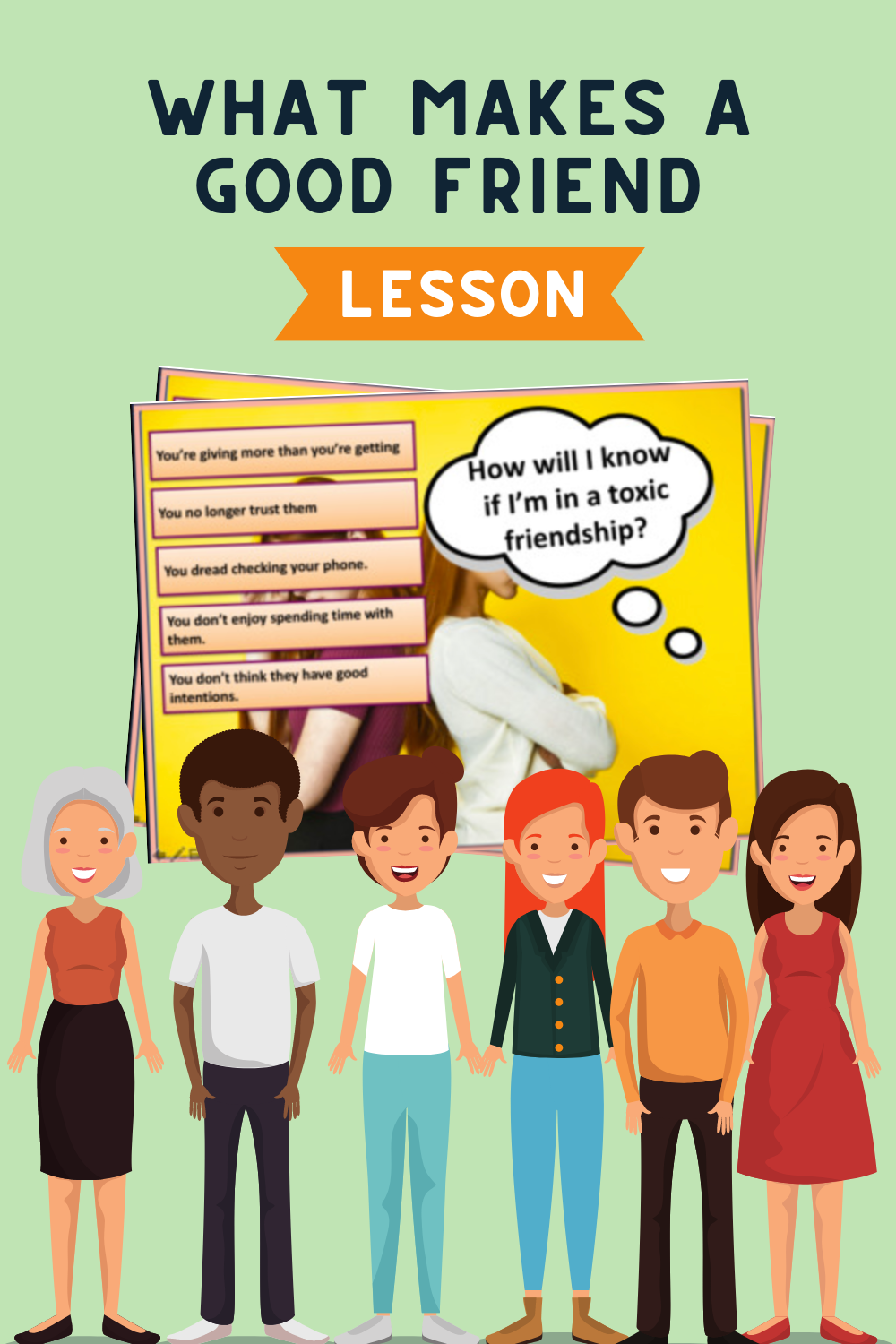 What makes a good friend Lesson - Teaching/Learning Resource