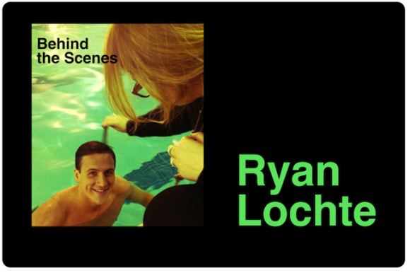 Ryan Lochte's Underwater Nirvana Cover - behind the scenes!