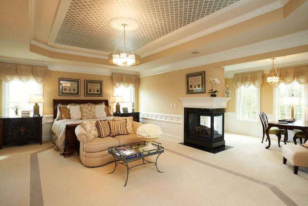 Suburbs Mama Nursery In Master Bedroom: The Clifton Park Master Bedroom With Sitting Area
