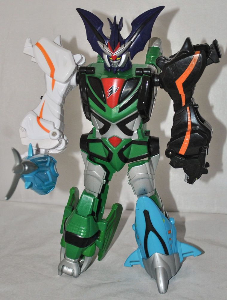 Bandai Power Rangers Jungle Fury - Transforming Beast ...