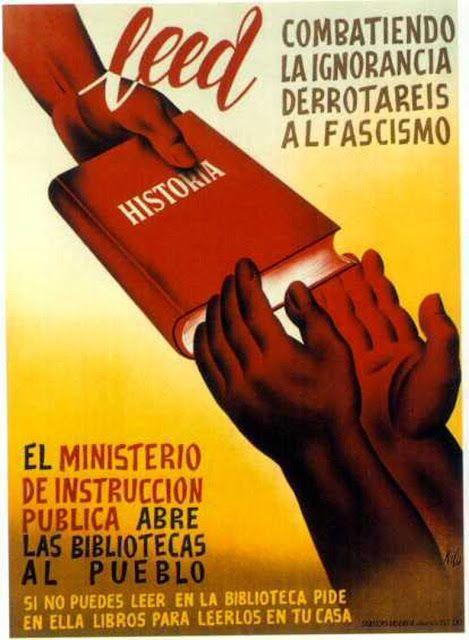 Pin En испания пропоганда