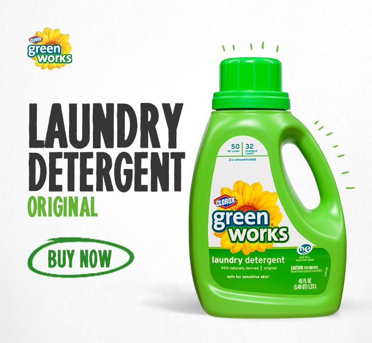 Green Works Laundry Detergent In Lavender Free And Clear And