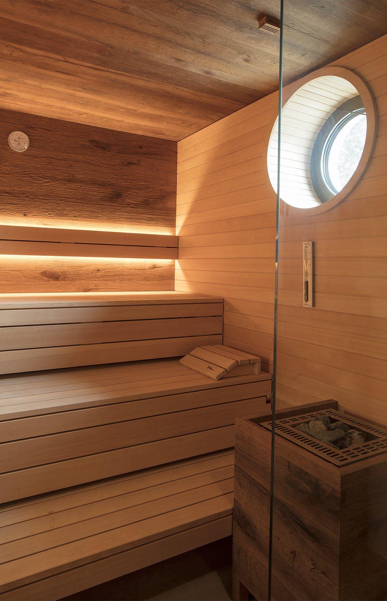 Sauna Im Bad Behaglich Und Warmend Schwimmbader Sauna Und Saunaofen
