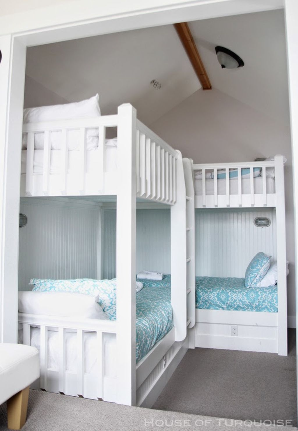 75 Cute Boys Bedroom Design Ideas for Small Space Bunk