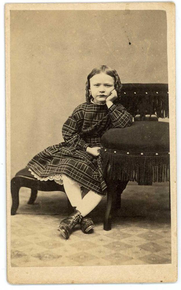 The Most Bored And Disgusted Little Girl Ever Civil War Era With