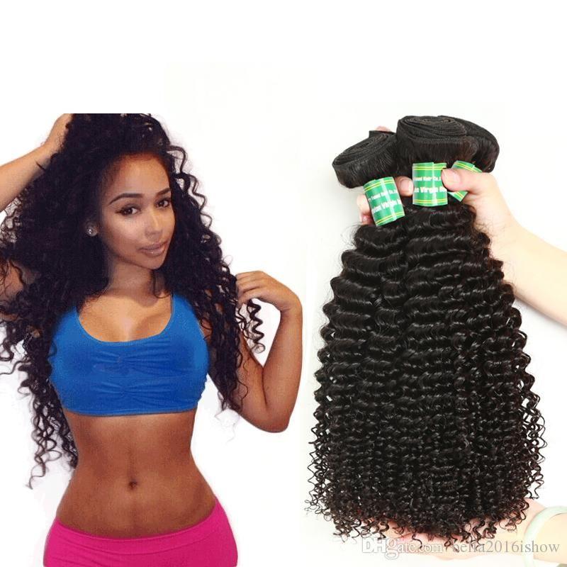 Lolly Hair Cheap Human Hair 3bundles 100g Grade Malaysian Kinky